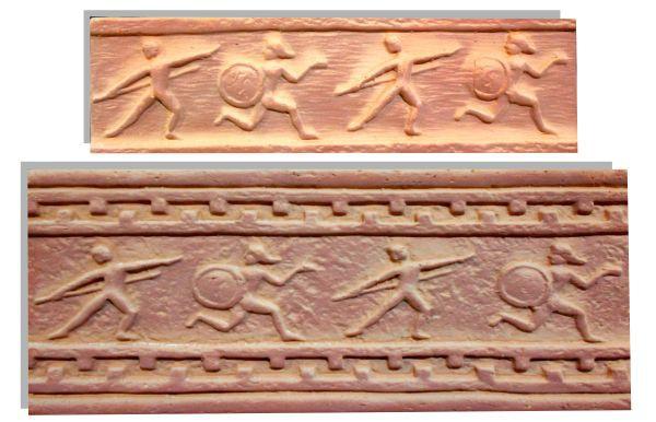 Декор Олимпия (мини), коллекция ANTIC